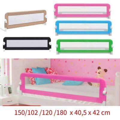 150cm Baby Safety Bed Rail Kid Guard Toddler Bedroom Protection Mesh Barrier UK