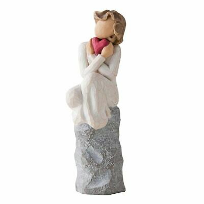 Willow Tree 'Always' Red Heart, Love Figurine In Branded Gift Box, 27180