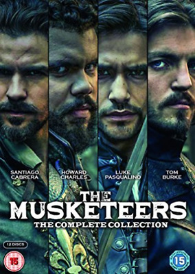 Musketeers The Comp Coll DVD NUEVO