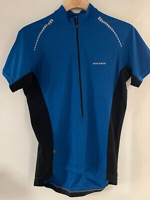 POLARIS LONG SLEEVE NITERIDE CYCLING JERSEY IN BLACK SMALL RRP £54.99