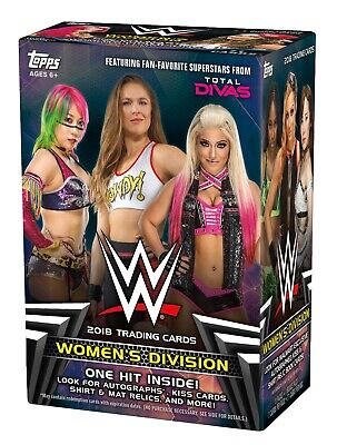 WWE Topps Women's Division 2018 Base Set Singles (20% Off 3+ Cards!)
