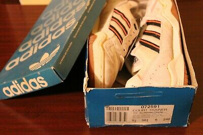 ADIDAS vintage deadstock new shoes  Vienna Never worn  80'S Match court trainer