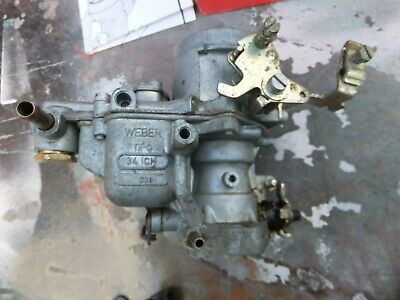 GENUINE Weber 34 ICH 251  Carburettor  SOME FIXINGS  BOXED