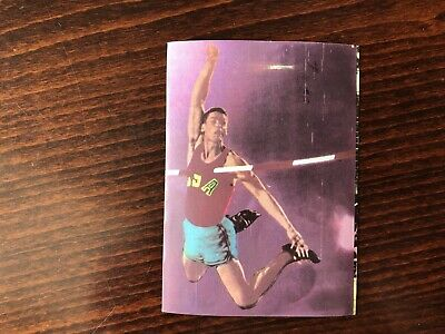 FRED HANSEN Rare Trading Card 1964 Pole Vault GOLD Olympic Champion