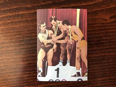Bantamweight Trading Card 1964 Weightlifting Olympic Champions