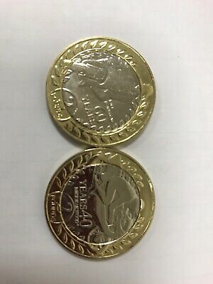 Isle of Man £2  Two Pound Coin TT 60th & 40th Anniversary Mike Hailwood Set