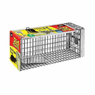 The Big Cheese LARGE HUMANE Rat Cage Trap Live-Catch Indoors Outdoors TRAPS NEW