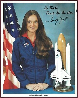 "Tamara Jernigan, NASA Astronaut, Signed 8"" x 10"" Photo, COA, UACC RD 036"