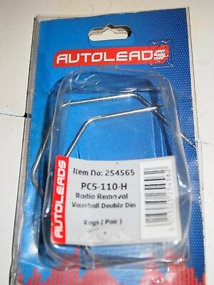 AUTOLEADS PC5-83 Renault Laguna All Models Stereo Radio Removal Release Keys