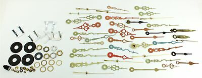 CLOCK HANDS - ASSORTMENT with SOME HAND NUTS! TB573