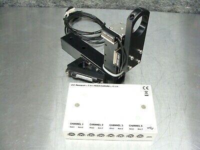 Newport AG-UC8 8-Axis AGILIS Controller + 2 x AG-LS25 12mm Piezo Linear Stage #2