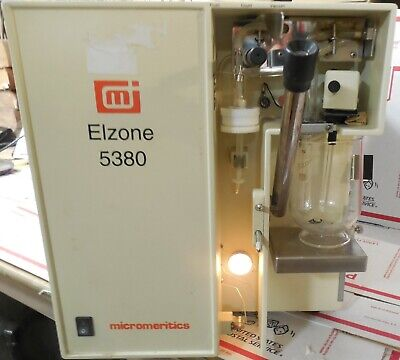 Elzone / Micromeritics 5380 Particle Size Analyzer...counting & sizing materials