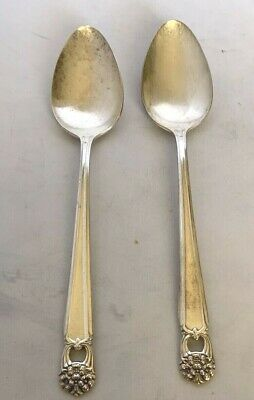Eternally Yours by 1847 Rogers Plate Silverplate Oval Soup Spoon 7 1//4/""