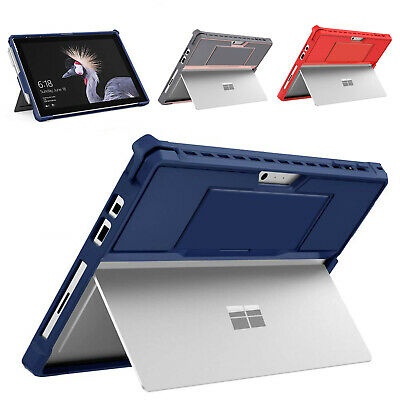 MoKo Microsoft Surface Pro 7 /6 /Pro 2017 Shockproof Protective Cover Strap Case