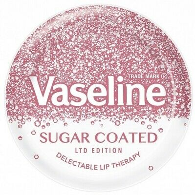 (World) Vaseline Lip Therapy Balm Gloss Jelly Sugar Coated 20g (Limited Edition)