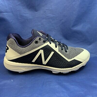New Balance Low-Cut 4040v4 TPU Baseball Cleats (PL4040N4) - Navy/White
