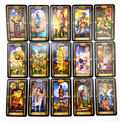 78pcs Tarot Deck Cards Guidance of Fate Playing Board Game Cards Set
