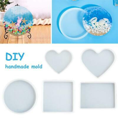 Portable Silicone Molds Making Pottery Tools Resin Craft Mould Multiple Shapes
