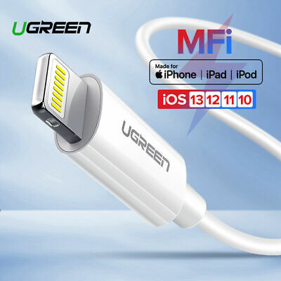 MFi Certified Apple Lightning Data Sync Cable Charger Fr iPhone iPad iPod New