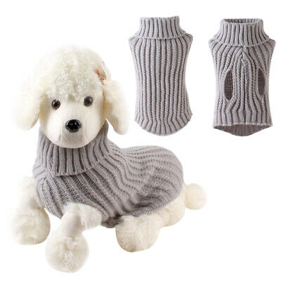 Small Large Christmas Dog Sweater Clothes Cute Knitted Jumper Apparel For Dog