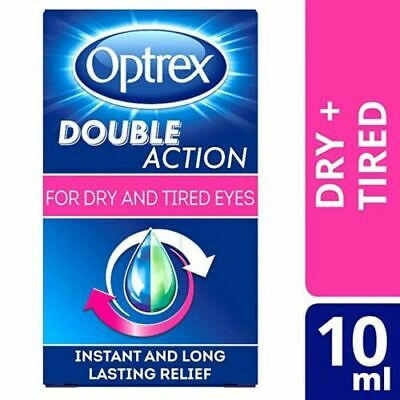 X3 optrex Double Action Drops for Dry & Tired Eyes 10ml