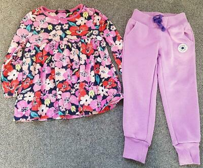 Toddler Girls 2 Piece Outfit, Long Sleeve Top/Joggers   2-3 Years
