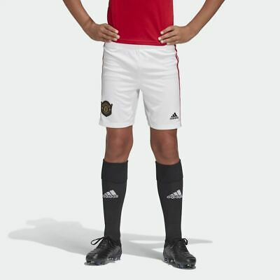adidas Manchester United Kids Home Shorts 2019/20 - Size - 9/10 Years , BNWT