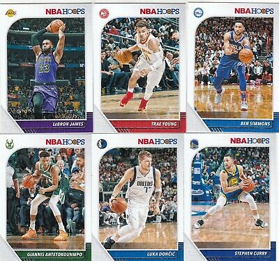 2019-20 19-20 Hoops Nba Basketball Singles 1-145 Complete Your Set