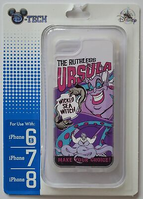 Disney Parks The Ruthless Ursula Iphone 6s/7/8 Phone Case NWT