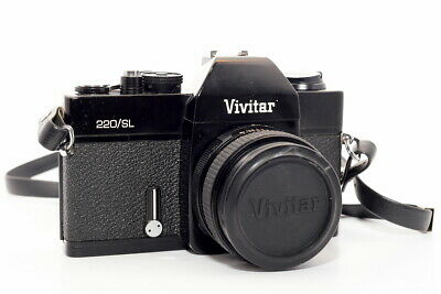 Vivitar 220 Sl Slr Film Camera With 50Mm Lens