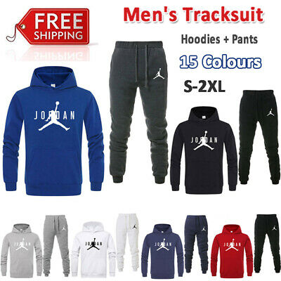 Mens Sportswear Hoodies Pants Tracksuit Sport Set Legend Basketball Jogging Suit
