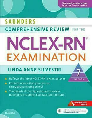 Saunders Comprehensive Review for the NCLEX-RN Examination, 7th Ed [P.D.F]