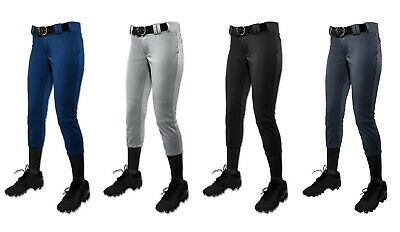 Champro Sports MUJER Torneo Tradicional, Talle bajo Fastpitch Sofbol Pantalones