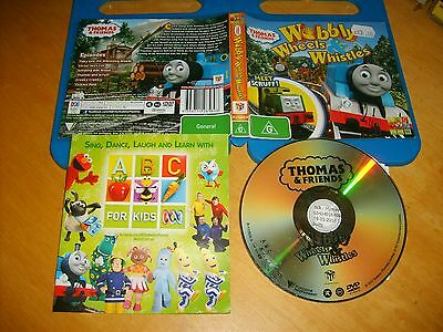 THOMAS AND FRIENDS - WOBBLY WHEELS & WHISTLES - ABC For Kids Dvd Issue Region 4