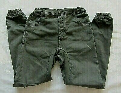 BNWOT INDIE KIDS by INDUSTRIE boys green khaki Cargo/Chino Pants - Size 14