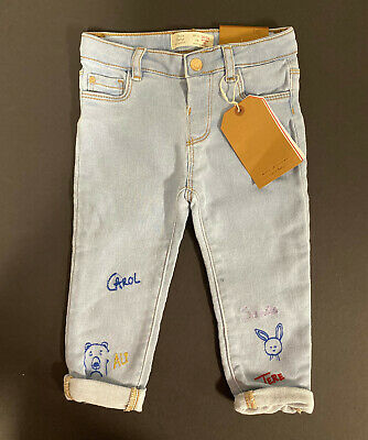 New with Tag Zara Baby Girls' Cute Jeans Size 18/24 Months