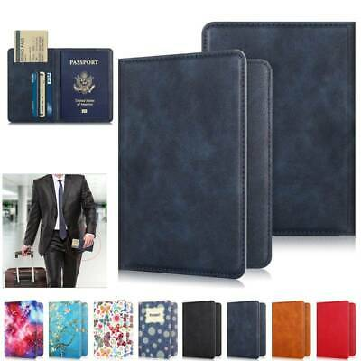 Passport Holder ID Card Travel Wallet Organize Protector Slot Cover Pattern Case