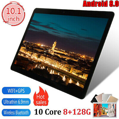 """Android 8.0 10.1"""" 8+128g Bluetooth WiFi PC Round Hole Camera GPS Call Tablet"""