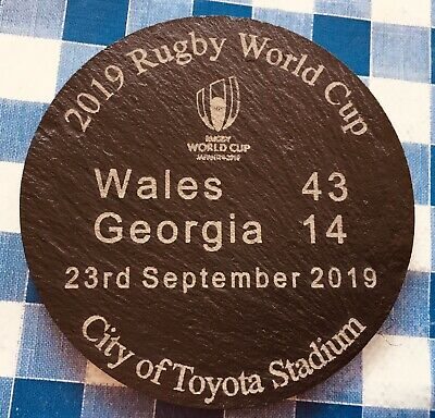 2019 Rugby World Cup Wales vs Georgia