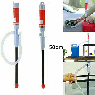 Liquid Handheld Transfer Gas Oil Fish Tank Siphon Water Pump Battery Operated