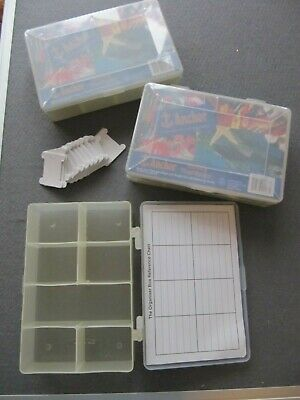 Anchor Thread Storage Box Organiser x 3 plus 150 card bobbins Cross Stitch