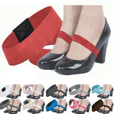 Women Anti Loose High Heel Band Detachable Elastic Straps Accessories Shoelace