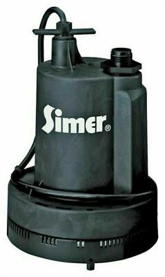 NEW Simer 2305 Geyser 1/4 HP Submersible Portable Utility Sump Pump