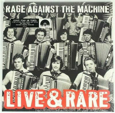 Rage Against The Machine Live & Rare Doppio Vinile Lp Rsd Black Friday 2018