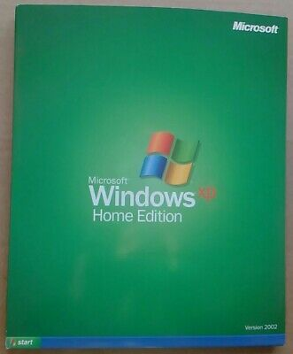 Windows XP Home 32 bit Full Version Install CD & Product Key with Service Pack 3