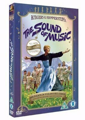 The Sound of Music (Sing-Along Edition) Dvd [1965] New/Sealed