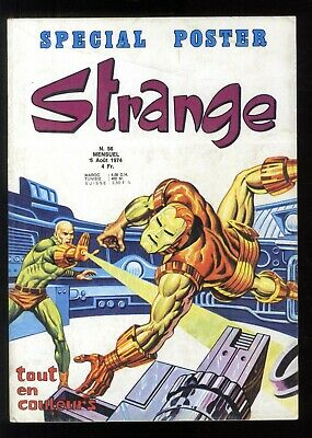 Strange No No 56 August 1974 without to Be Sent Lug Very Good Condition
