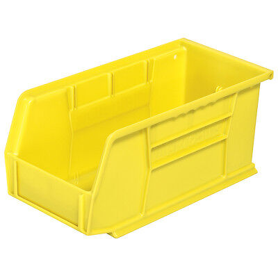 Akro-Mils 30230YELLO Stack & Hang Bin 10-7/8D x 5-1/2W x 5H Yellow 12/pk