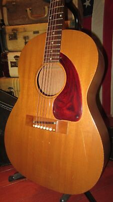 Vintage Original 1968 Kalamazoo Small Bodied Acoustic Guitar Gibson Factory SSC