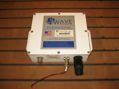WAVE WIFI Sirens Marine EC-HP WIFI Range Extender w/Power Cable